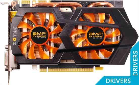 Видеокарта ZOTAC GeForce GTX 660 Ti AMP! Extreme 2GB GDDR5 (ZT-60806-10P)