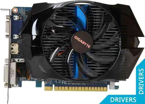 Видеокарта Gigabyte GeForce GTX 650 Ti OC 1024MB GDDR5 (GV-N65TOC-1GI)