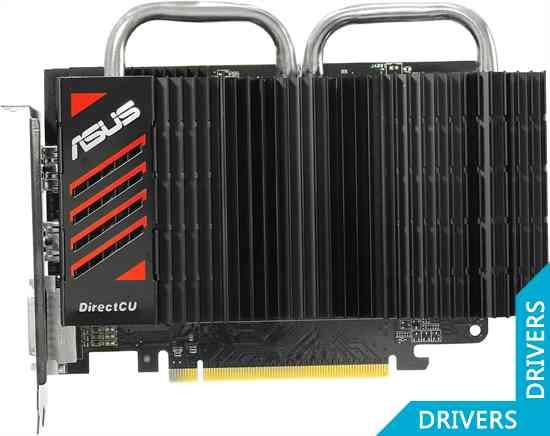 Видеокарта ASUS HD 7750 DirectCU Silent 1024MB GDDR5 (HD7750-DCSL-1GD5)