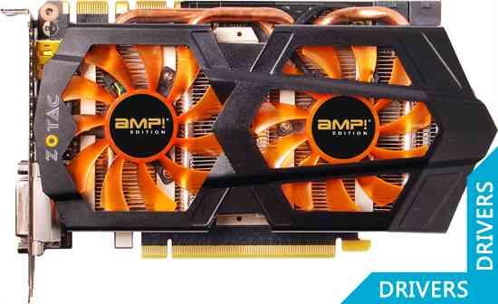 ���������� ZOTAC GeForce GTX 660 Ti AMP! 2GB GDDR5 (ZT-60804-10P)