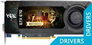 Видеокарта KFA2 GeForce GTX 670 2GB GDDR5