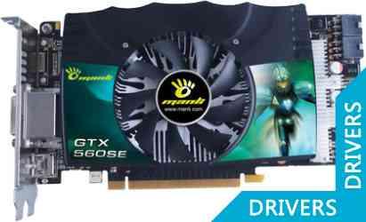 Видеокарта Manli GeForce GTX 560 SE 1024MB GDDR5 (M-NGTX560SE/5R7HDD)