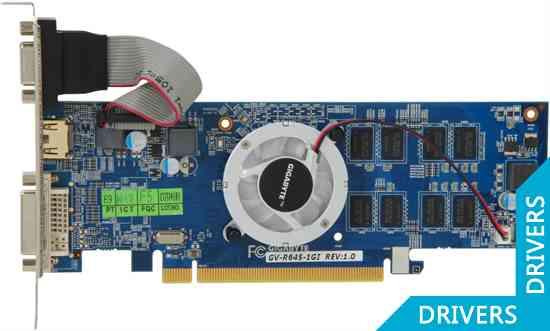 Видеокарта Gigabyte HD 6450 1024MB DDR3 (GV-R645-1GI)