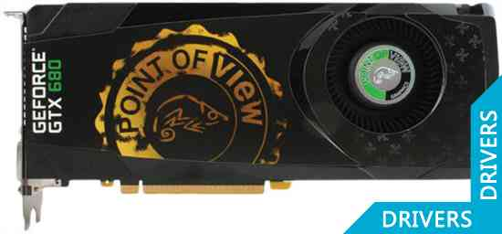 Видеокарта Point of View Geforce GTX 680 2GB GDDR5 (VGA-680-A1)