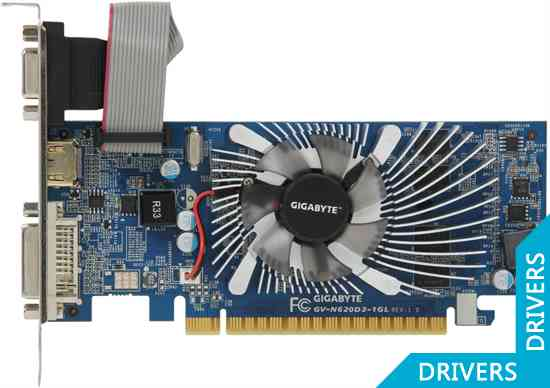 ���������� Gigabyte GeForce GT 620 1024MB DDR3 (GV-N620D3-1GL)