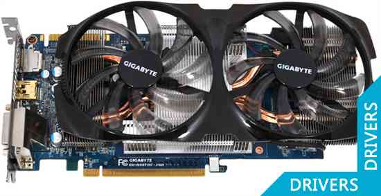 Видеокарта Gigabyte GeForce GTX 660 Ti 2GB GDDR5 (GV-N66TOC-2GD)