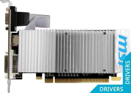 ���������� MSI GeForce GT 610 1024MB DDR3 (N610GT-MD1GD3H/LP)