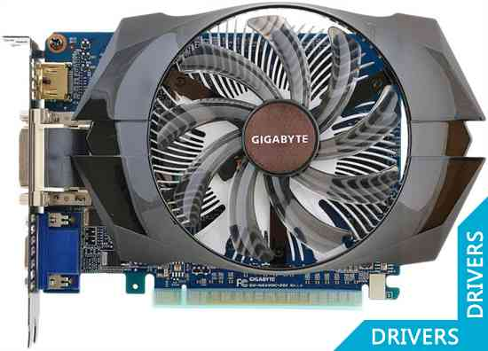 Видеокарта Gigabyte GeForce GT 640 2GB DDR3 (GV-N640OC-2GI)