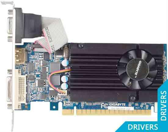 Видеокарта Gigabyte GeForce GT 610 1024MB DDR3 (GV-N610D3-1GI)