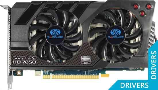 Видеокарта Sapphire HD 7850 OC 2GB GDDR5 (11200-01)