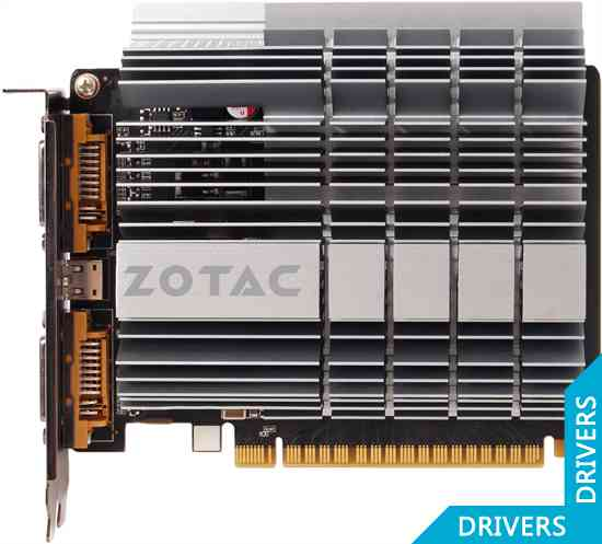 Видеокарта ZOTAC GeForce GT 610 ZONE 1024MB DDR3 (ZT-60603-20L)