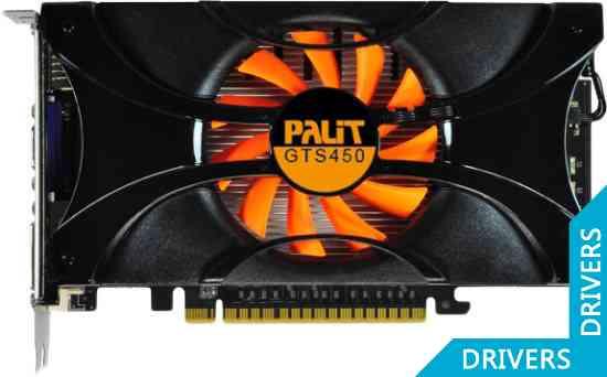 Видеокарта Palit GeForce GTS 450 1024MB GDDR5 (NE5S450DHD01-1063F)