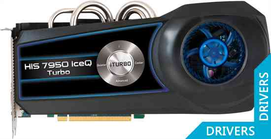 Видеокарта HIS HD 7950 IceQ Turbo 3GB GDDR5 (H795QT3G2M)