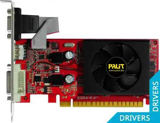 Видеокарта Palit GeForce 210 512MB DDR3 (NEAG2100HD53-1193F)