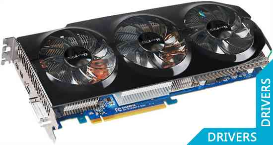 Видеокарта Gigabyte HD 7950 WindForce 3 3GB GDDR5 (GV-R795WF3-3GD)