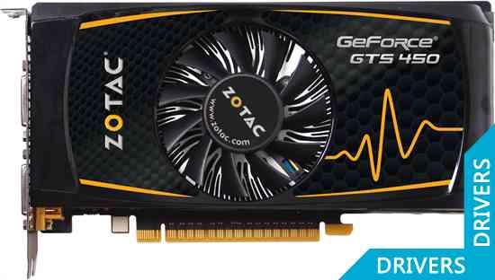 Видеокарта ZOTAC GeForce GTS 450 1024MB GDDR5 (ZT-40501-10L)