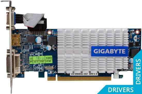 Видеокарта Gigabyte HD 6450 1024MB DDR3 (GV-R645SL-1GI)
