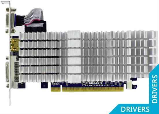 Видеокарта Gigabyte GeForce GT 520 1024MB DDR3 (GV-N520SL-1GI)