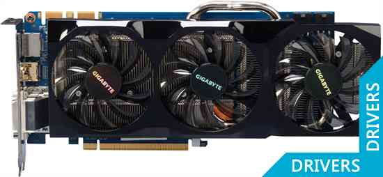 Видеокарта Gigabyte GeForce GTX 560 Ti 448 Cores 1280MB GDDR5 (GV-N560448-13I)