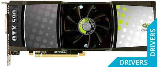 Видеокарта Point of View GTX 590 3GB GDDR5 (VGA-590-1)