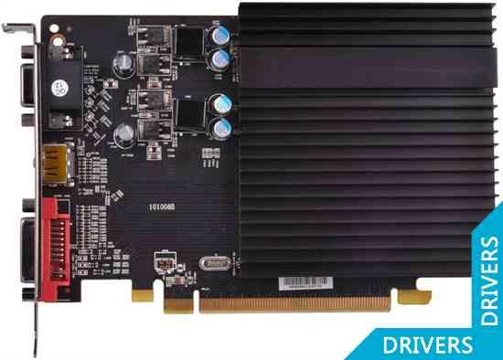 Видеокарта XFX HD 6450 2GB DDR3 (HD-645X-CNH2)