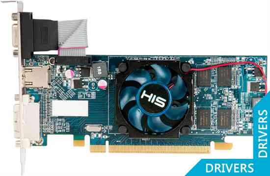 Видеокарта HIS HD 6450 Fan 2GB DDR3 (H645F2G)