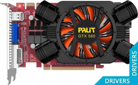 Видеокарта Palit GeForce GTX 560 1024MB GDDR5 (NE5X5600HD02-1142F)