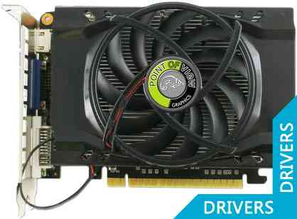 Видеокарта Point of View GeForce GTX 550 Ti 2GB DDR3 (VGA-550-C1-2048)