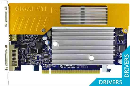 Видеокарта Gigabyte GeForce 8400 GS 1024MB GDDR2 (GV-N84STC-1GI)