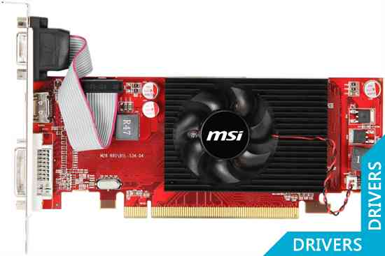 Видеокарта MSI HD 6450 2GB DDR3 (R6450-MD2GD3/LP)