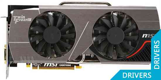 Видеокарта MSI N580GTX Twin Frozr III 15D5 POWER EDITION/OC