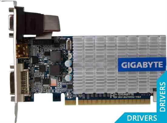 Видеокарта Gigabyte GeForce 210 1024MB DDR3 (GV-N210SL-1GI)