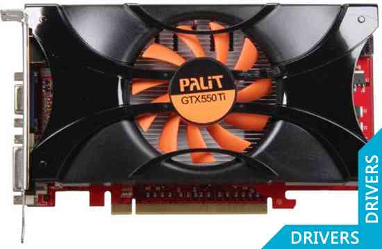 Видеокарта Palit GeForce GTX 550 Ti 1024MB GDDR5 (NE5X55T0HD09-1160F)
