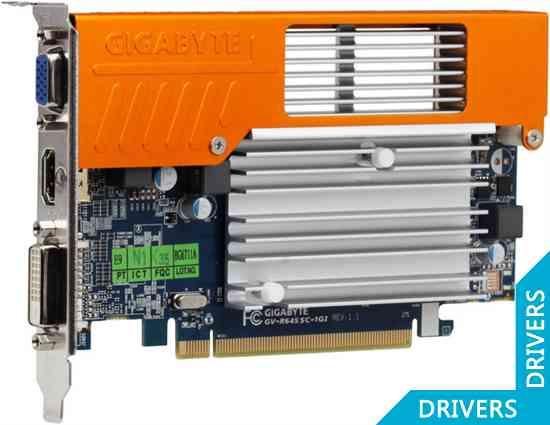 Видеокарта Gigabyte HD 6450 1024MB DDR3 (GV-R645SC-1GI)