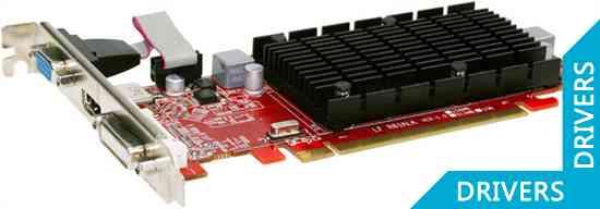 Видеокарта PowerColor Go! Green HD 5450 512MB DDR3 (AX5450 512MK3-SHV4)