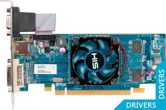 Видеокарта HIS HD 6450 Fan 512MB DDR3 (H645F512)