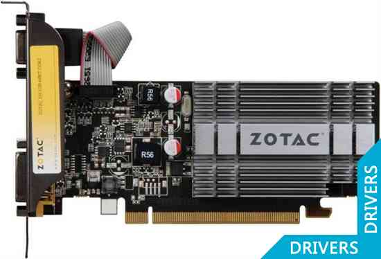 Видеокарта ZOTAC GeForce 210 Synergy 1024MB DDR2 (ZT-20305-10L)