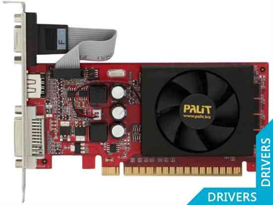 Видеокарта Palit GeForce GT 520 1024MB DDR3 (NEAT5200HD06-1193F)