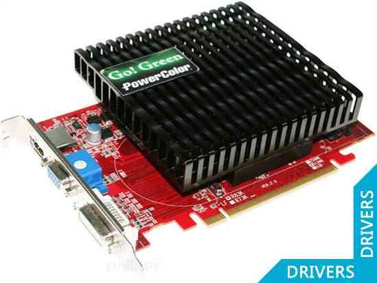 Видеокарта PowerColor Go! Green HD 5550 512MB DDR3 (V2) (AX5550 512MK3-NS3HV2)