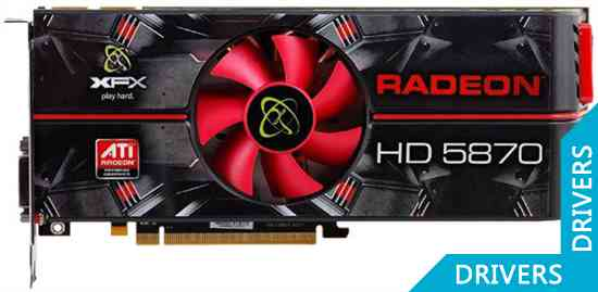 Видеокарта XFX HD 5870 1024MB GDDR5 (HD-587X-ZNFC)