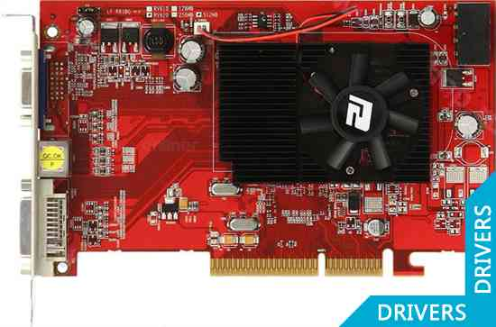 ���������� PowerColor HD 3450 512MB DDR2 AGP (AG3450 512MD2-V2)