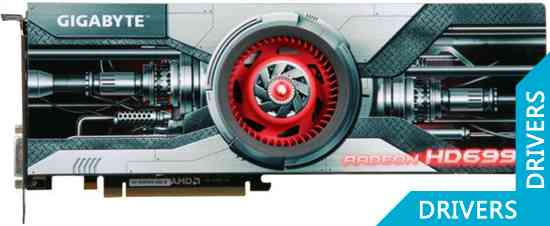 Видеокарта Gigabyte HD 6990 4GB GDDR5 (GV-R699D5-4GD-B)