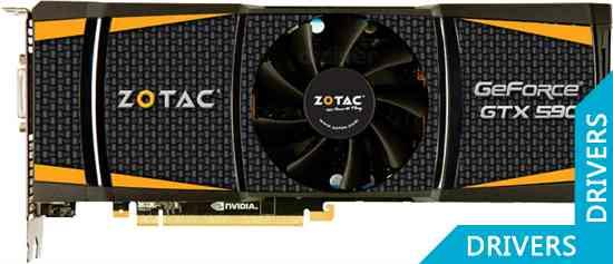 Видеокарта ZOTAC GeForce GTX 590 3GB GDDR5 (ZT-50501-10P)