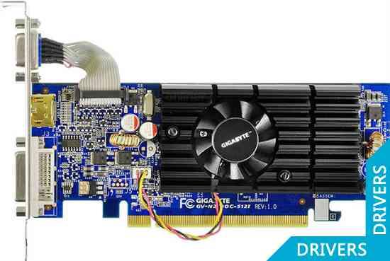 Видеокарта Gigabyte GeForce 210 512MB GDDR2 (GV-N210D2-512I)