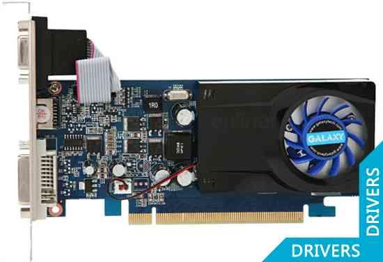 Видеокарта Galaxy GeForce 210 512MB DDR2 (21GFE4HX2HXN)