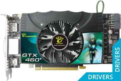 Видеокарта Manli GeForce GTX 460 1GB GDDR5