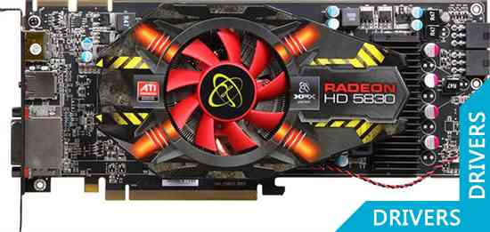 ���������� XFX Radeon HD 5830 1024 MB DDR5 DisplayPort (HD-583X-ZAFA)