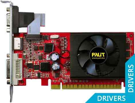 Видеокарта Palit GeForce 210 1024MB DDR3 (NEAG2100HD06-2187F)