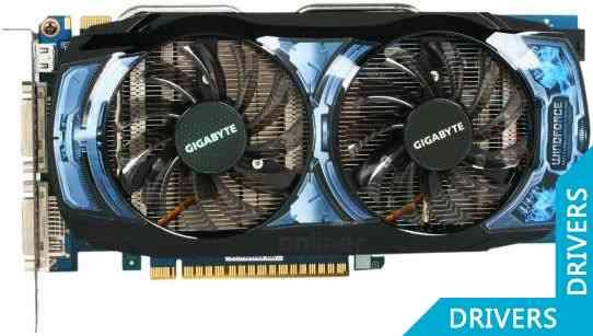 Видеокарта Gigabyte GeForce GTS 450 OC 1024MB GDDR5 (GV-N450OC2-1GI)