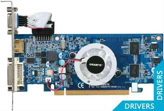 Видеокарта Gigabyte GeForce 8400 GS 128MB GDDR3 (GV-N84STC-512I)